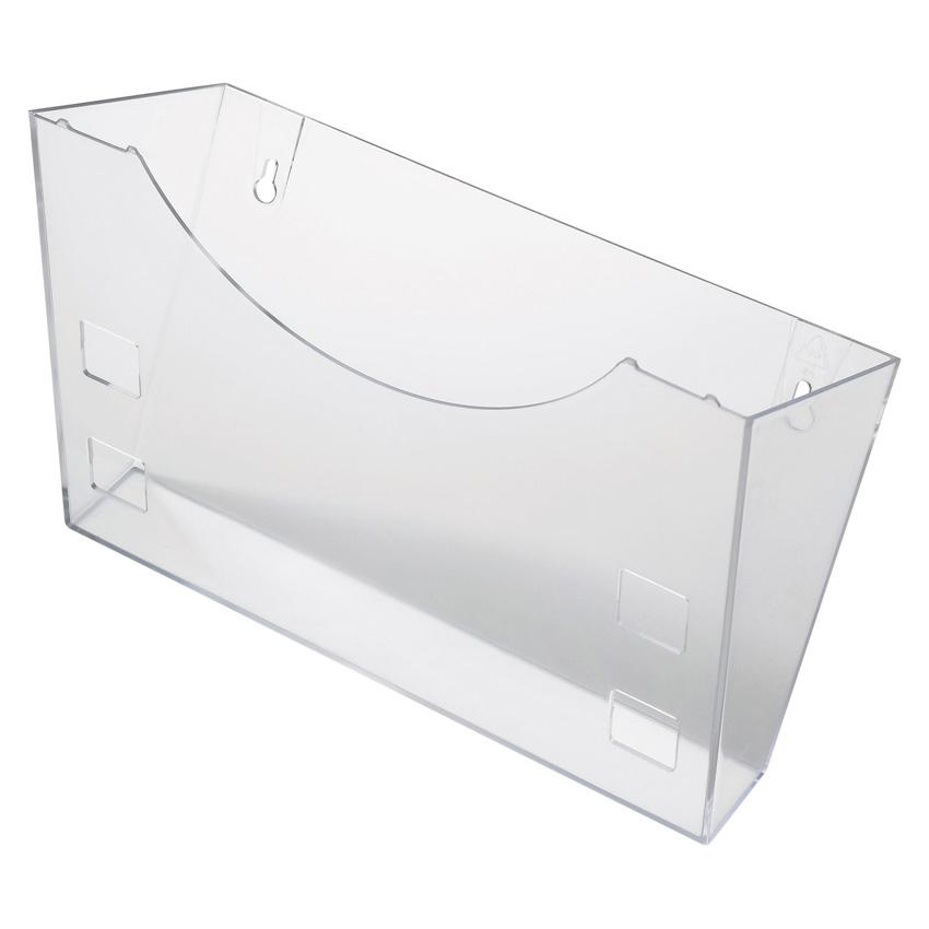 Helit Prospekthalter A4 68100 glasklar