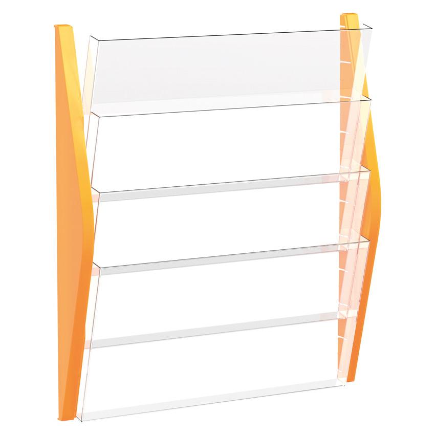 The arc wandbogendisplay 4 taschen a3 quer zeitungsformat for Tisch organizer design